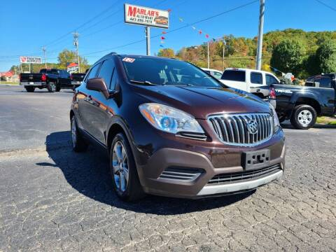 2013 Buick Encore for sale at MARLAR AUTO MART SOUTH in Oneida TN