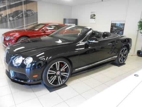 2015 Bentley Continental for sale at Bentley Zionsville in Zionsville IN