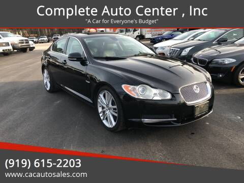 2010 Jaguar XF for sale at Complete Auto Center , Inc in Raleigh NC