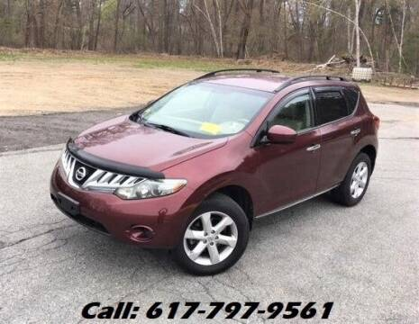 2009 Nissan Murano for sale at Wheeler Dealer Inc. in Acton MA