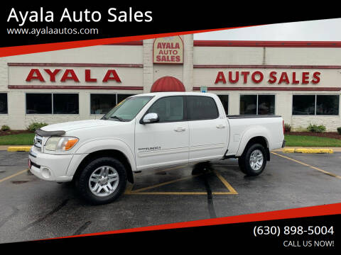 2006 Toyota Tundra for sale at Ayala Auto Sales in Aurora IL