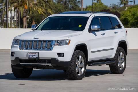 2013 Jeep Grand Cherokee for sale at Euro Auto Sales in Santa Clara CA
