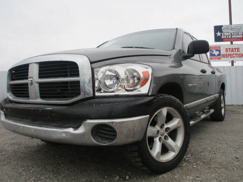 2007 Dodge Ram Pickup 1500 for sale at Texas Country Auto Sales LLC in Austin TX