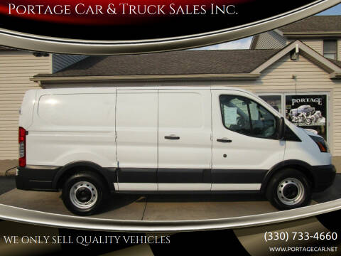 2017 Ford Transit Cargo for sale at Portage Car & Truck Sales Inc. in Akron OH