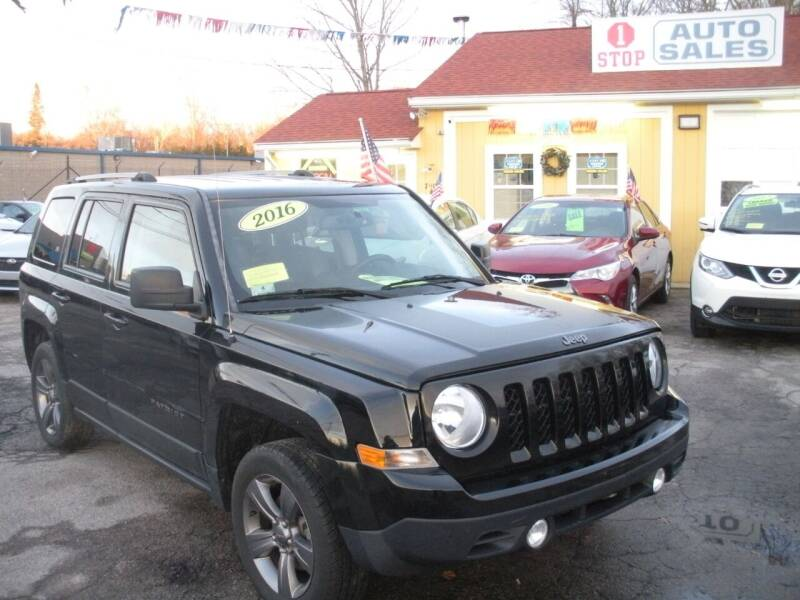 2016 Jeep Patriot for sale at One Stop Auto Sales in North Attleboro MA