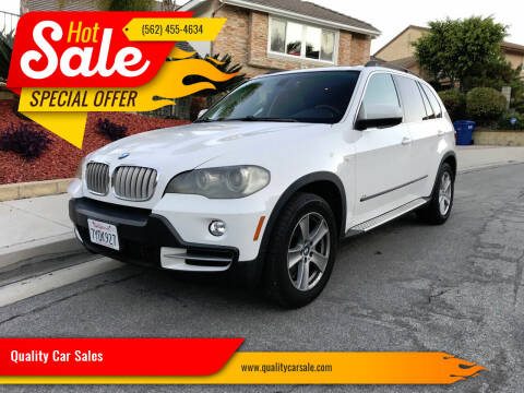2008 BMW X5 for sale at Quality Car Sales in Whittier CA