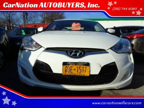 2012 Hyundai Veloster for sale at CarNation AUTOBUYERS, Inc. in Rockville Centre NY
