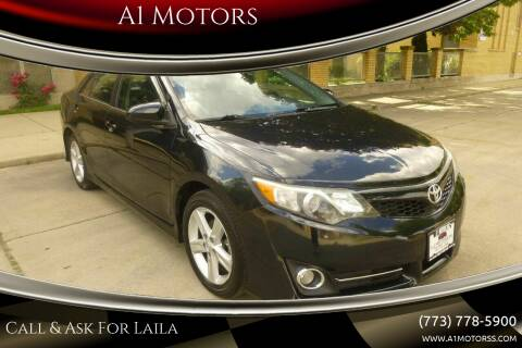 2012 Toyota Camry for sale at A1 Motors Inc in Chicago IL