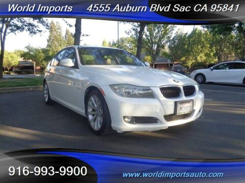 2011 BMW 3 Series for sale at World Imports in Sacramento CA