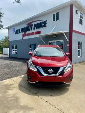 2015 Nissan Murano for sale at All About Price in Bunnell FL