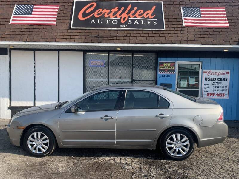 2008 Ford Fusion for sale at Certified Auto Sales, Inc in Lorain OH