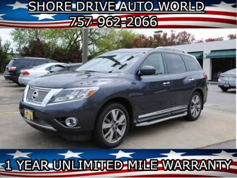 2014 Nissan Pathfinder for sale at Shore Drive Auto World in Virginia Beach VA