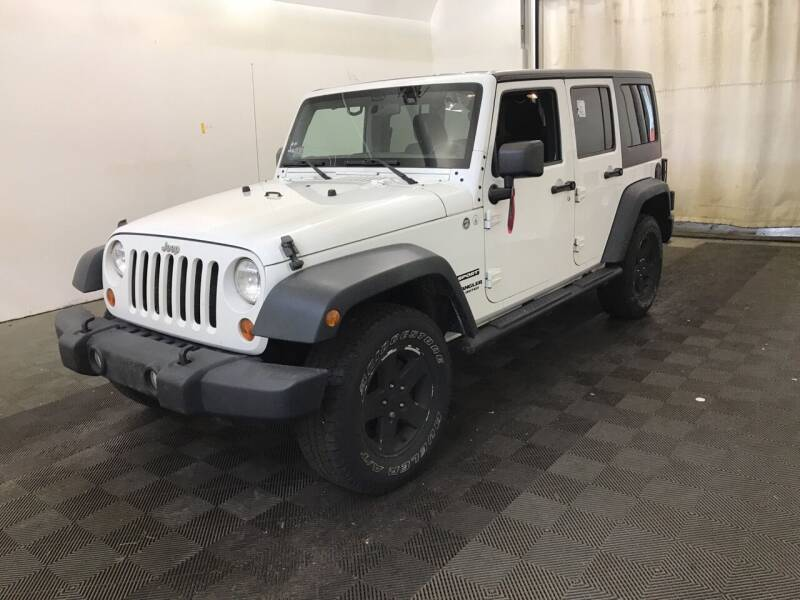 2011 Jeep Wrangler Unlimited for sale at Broadway Motoring Inc. in Arlington MA