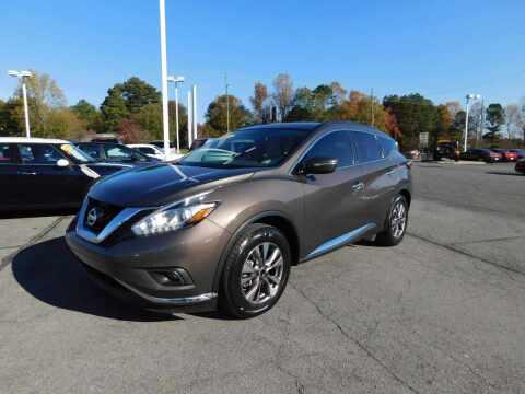 2015 Nissan Murano for sale at Paniagua Auto Mall in Dalton GA