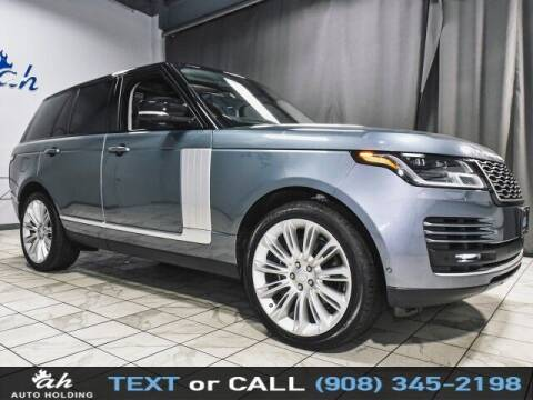 2018 Land Rover Range Rover for sale at AUTO HOLDING in Hillside NJ