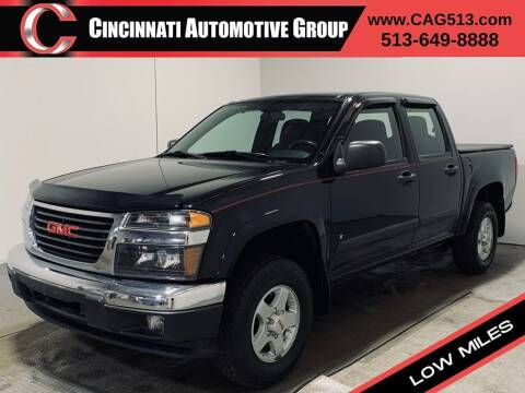 2008 GMC Canyon for sale at Cincinnati Automotive Group in Lebanon OH