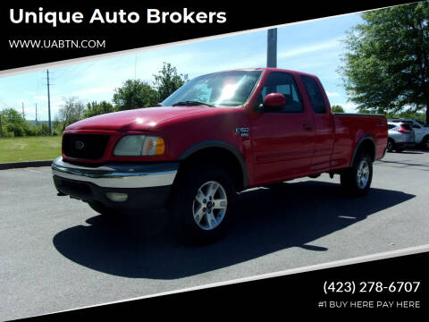 2002 Ford F-150 for sale at Unique Auto Brokers in Kingsport TN
