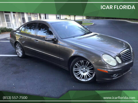 2008 Mercedes-Benz E-Class for sale at ICar Florida in Lutz FL