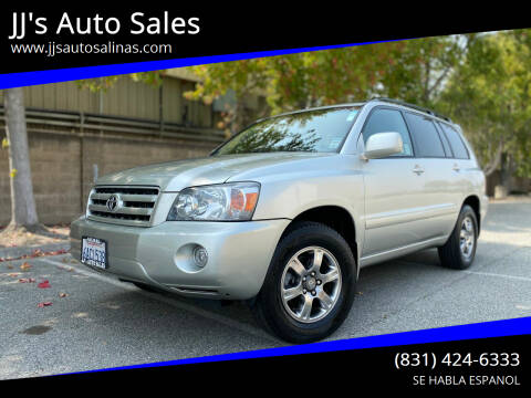 2007 Toyota Highlander for sale at JJ's Auto Sales in Salinas CA