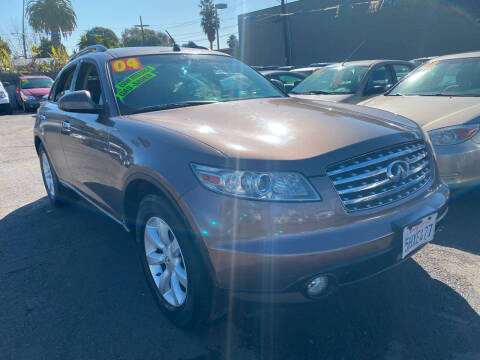 2004 Infiniti FX35 for sale at North County Auto in Oceanside CA