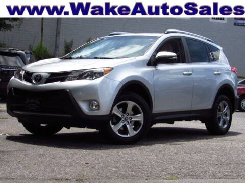 2015 Toyota RAV4 for sale at Wake Auto Sales Inc in Raleigh NC