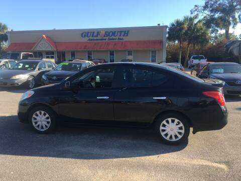 2013 Nissan Versa for sale at Gulf South Automotive in Pensacola FL