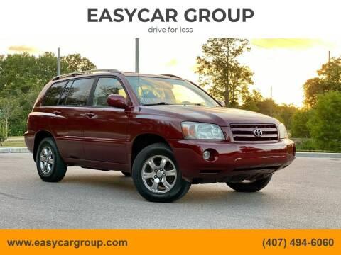 2005 Toyota Highlander for sale at EASYCAR GROUP in Orlando FL