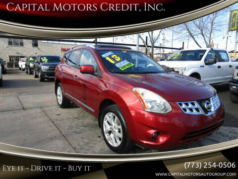 2013 Nissan Rogue for sale at Capital Motors Credit, Inc. in Chicago IL