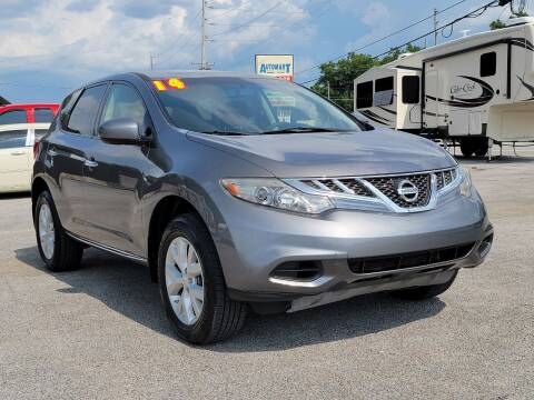2014 Nissan Murano for sale at AutoMart East Ridge in Chattanooga TN