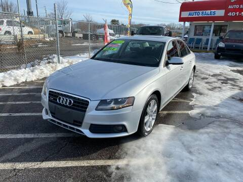 2010 Audi A4 for sale at Sandy Lane Auto Sales and Repair in Warwick RI