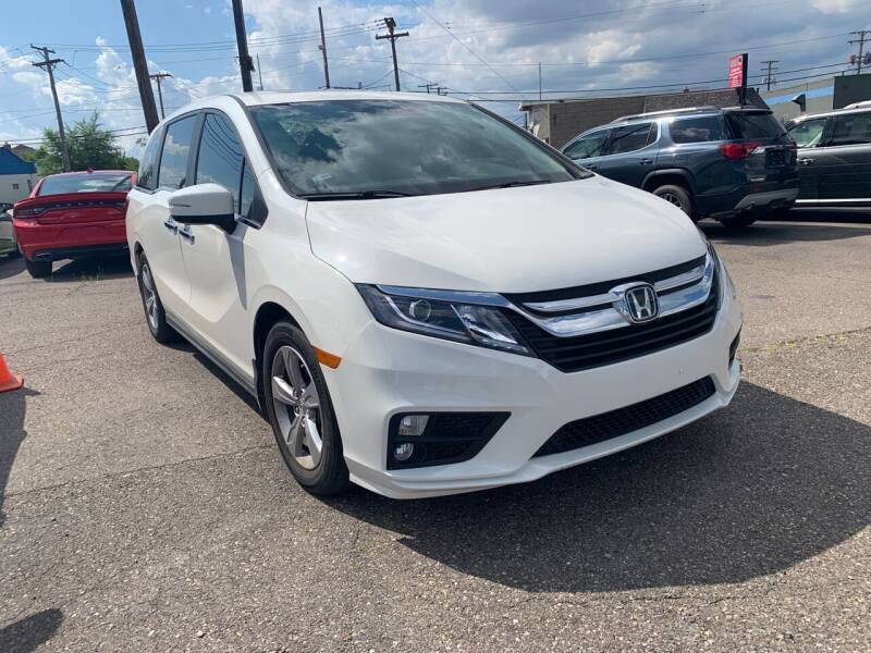 2019 Honda Odyssey for sale at M-97 Auto Dealer in Roseville MI