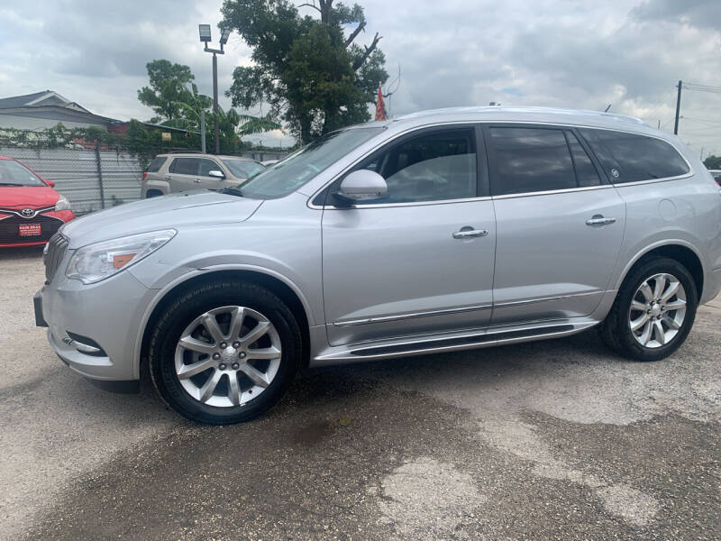 2014 Buick Enclave for sale at FAIR DEAL AUTO SALES INC in Houston TX