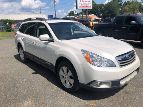 2011 Subaru Outback for sale at Chris Auto Sales in Springfield MA