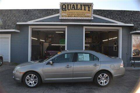 2008 Ford Fusion for sale at Quality Pre-Owned Automotive in Cuba MO