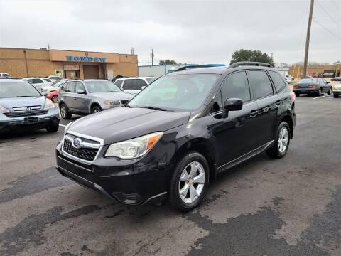 2015 Subaru Forester for sale at Image Auto Sales in Dallas TX