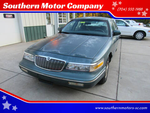 1996 Mercury Grand Marquis for sale at Southern Motor Company in Lancaster SC