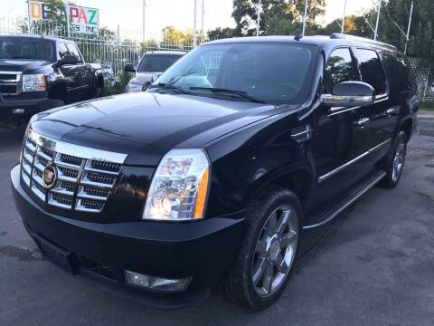2007 Cadillac Escalade ESV for sale at Texas Luxury Auto in Houston TX