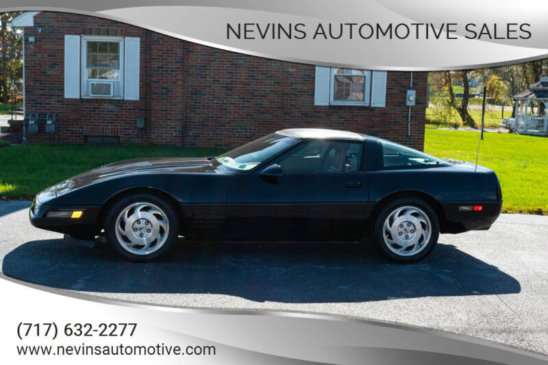 1993 Chevrolet Corvette for sale at Nevins Automotive Sales in Hanover PA