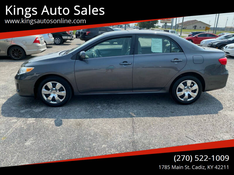 2013 Toyota Corolla for sale at Kings Auto Sales in Cadiz KY