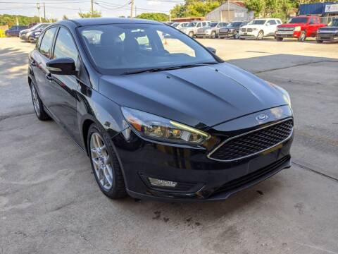 2015 Ford Focus for sale at PREMIER MOTORS OF PEARLAND in Pearland TX