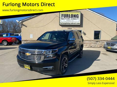 2018 Chevrolet Tahoe for sale at Furlong Motors Direct in Faribault MN