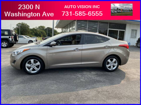 2013 Hyundai Elantra for sale at Auto Vision Inc. in Brownsville TN
