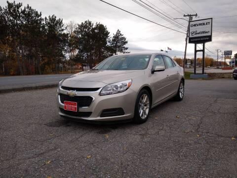 2015 Chevrolet Malibu for sale at KATAHDIN MOTORS INC /  Chevrolet & Cadillac in Millinocket ME