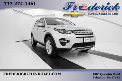 2018 Land Rover Discovery Sport for sale at Lancaster Pre-Owned in Lancaster PA