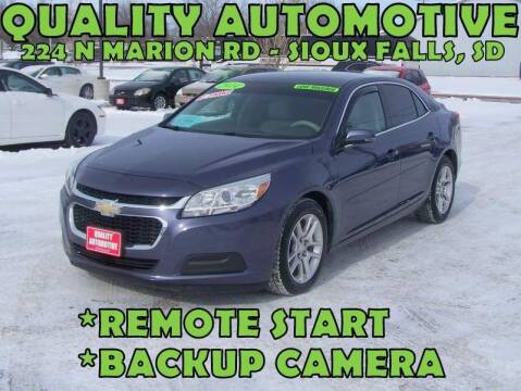 2014 Chevrolet Malibu for sale at Quality Automotive in Sioux Falls SD