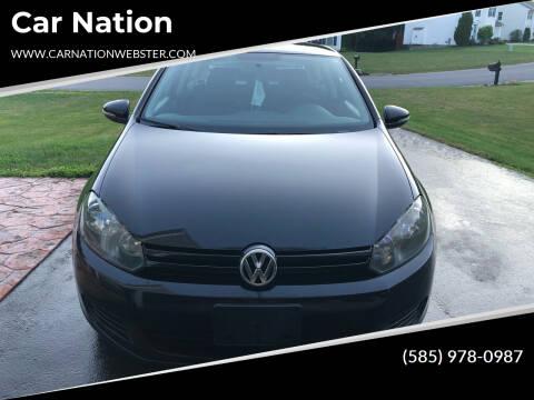 2012 Volkswagen Golf for sale at Car Nation in Webster NY