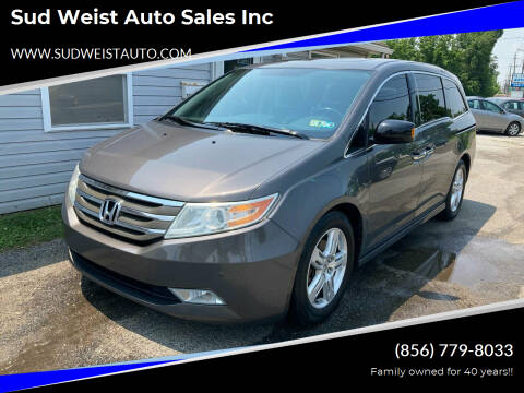 2013 Honda Odyssey for sale at Sud Weist Auto Sales Inc in Maple Shade NJ