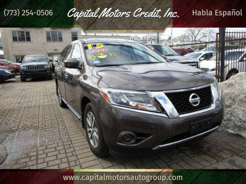 2015 Nissan Pathfinder for sale at Capital Motors Credit, Inc. in Chicago IL