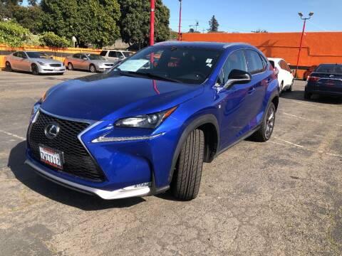 2016 Lexus NX 200t for sale at City Motors in Hayward CA