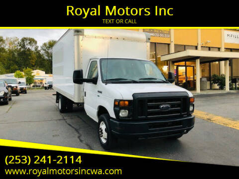 2012 Ford E-Series Chassis for sale at Royal Motors Inc in Kent WA